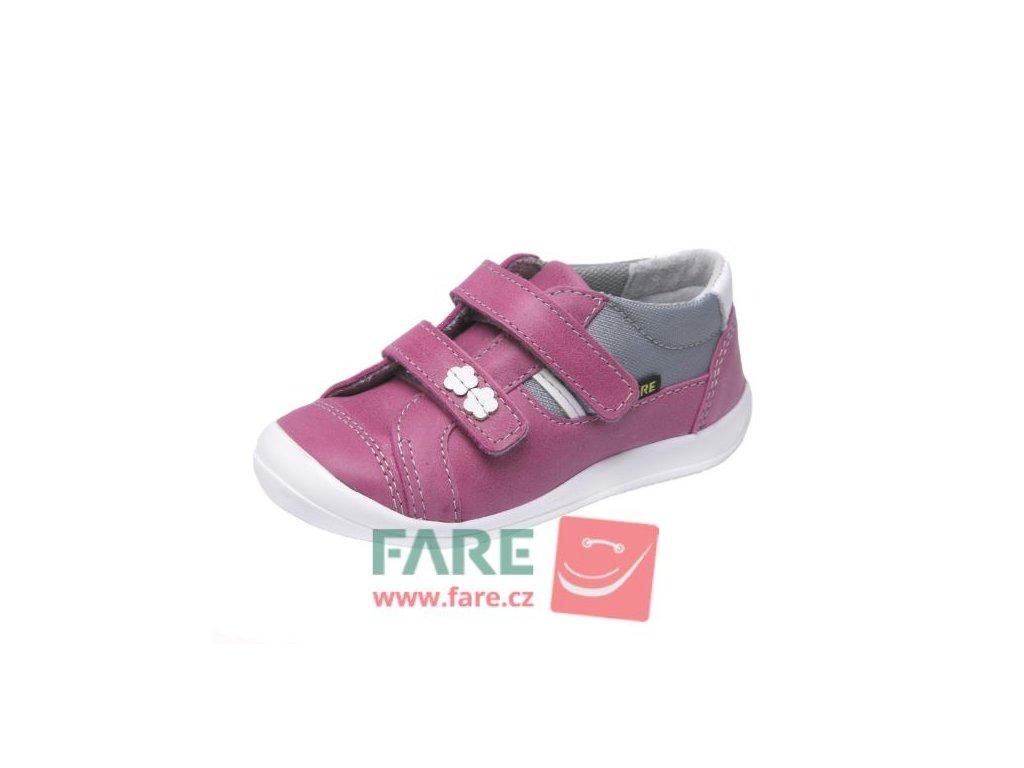 Fare 812151 dívčí celoroční kožené boty