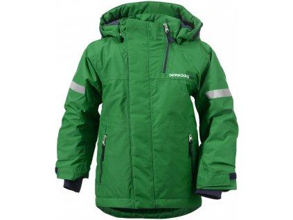 Didriksons Rovda dětská zimní bunda Zelená