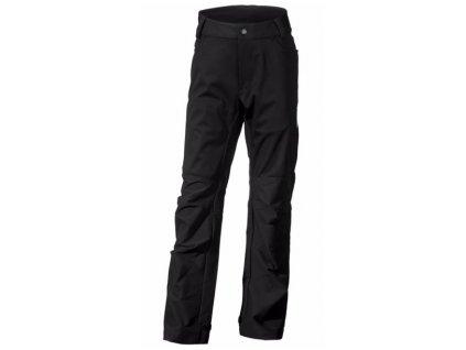 DIDRIKSONS 1913 Softshellové chlapecké kalhoty HAUGE BS PANTS  - Černé