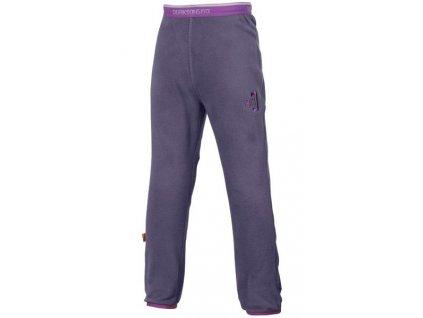 detske fleecove kalhoty monte fialové