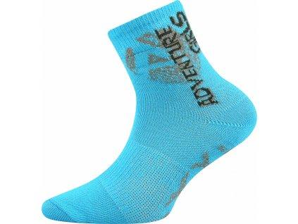 Voxx Adventurik dětské sportovní ponožky tyrkys