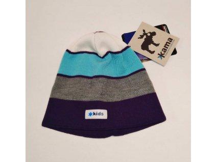 KAMA zimní čepice Merino B57 116 fialová