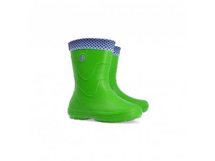 Demar VIBES B zelené juniorské odlehčené holínkymmf1000x1000