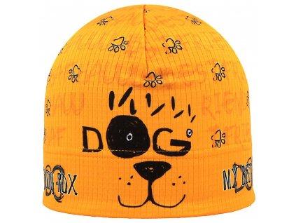 RDX funkční čepice ZIMA F916P dog