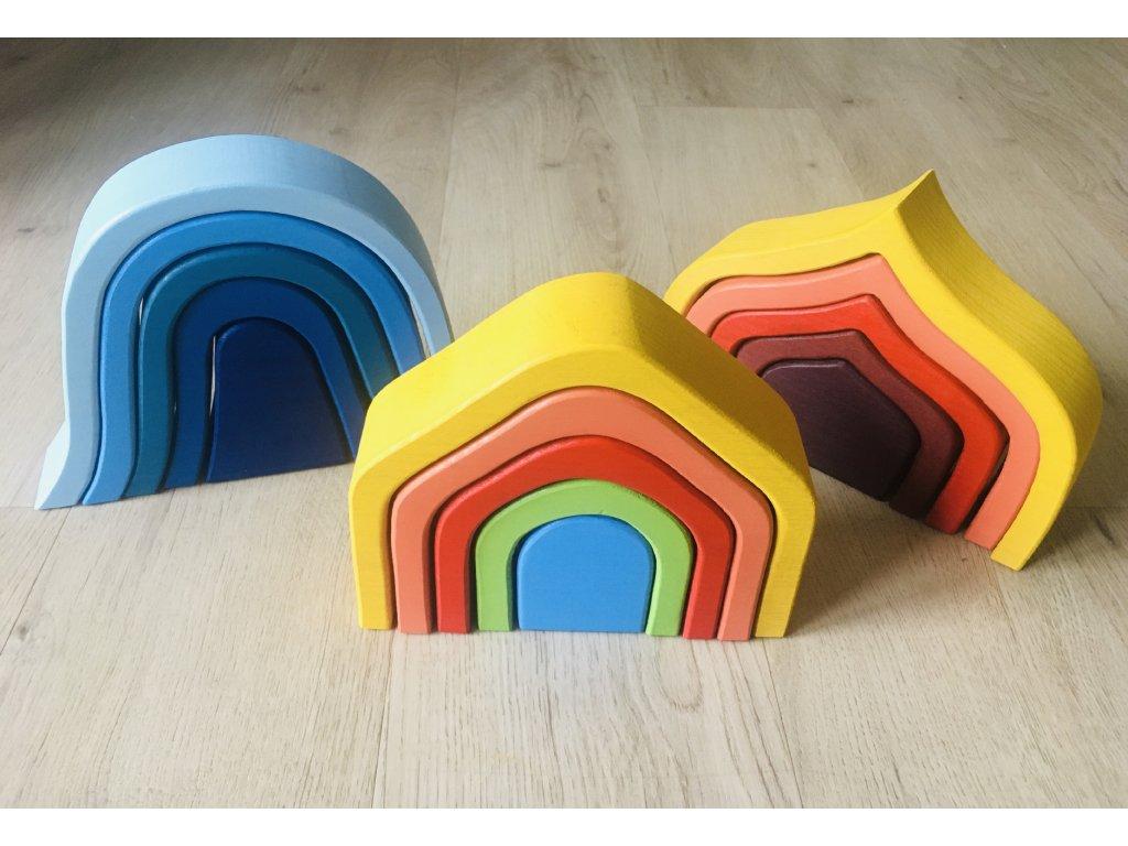 Waldorfské barevné tvary