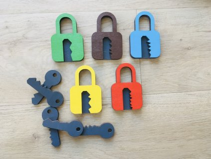 Vkládačka klíče se zámky