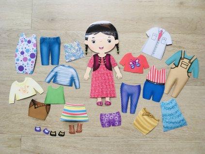 Oblékací panenka - PDF