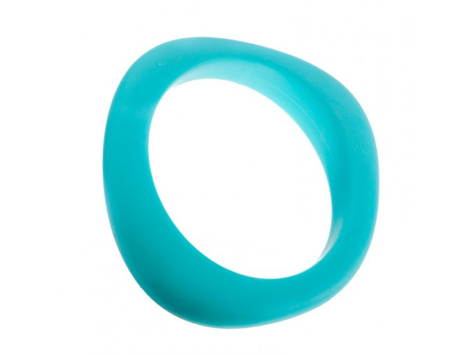 Silikonový náramek kousátko tyrkysový