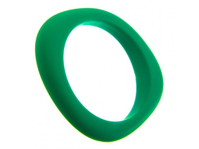Silikonový náramek kousátko zelený