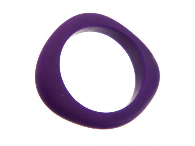Silikonový náramek kousátko fialový