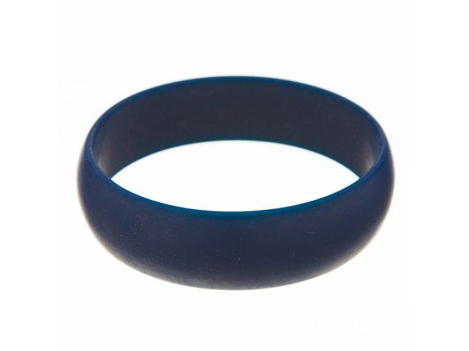 Silikonový náramek kousátko kulatý námoř. modř
