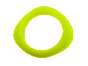 Silikonový náramek kousátko svítivě žlutý