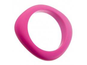 Silikonový náramek růžový