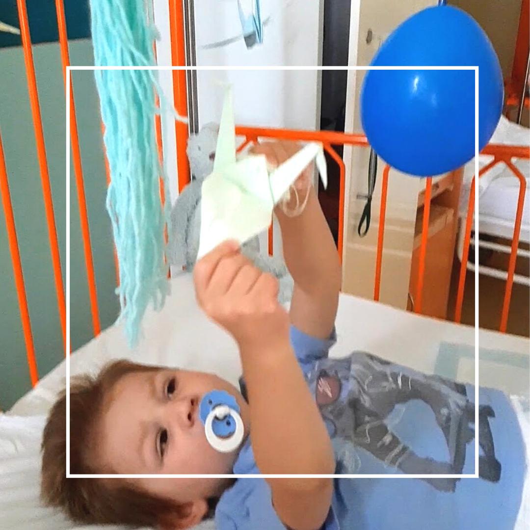 Jak zabavit děti v nemocnici