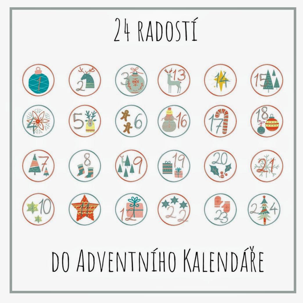 24 radostí do Adventního Kalendáře