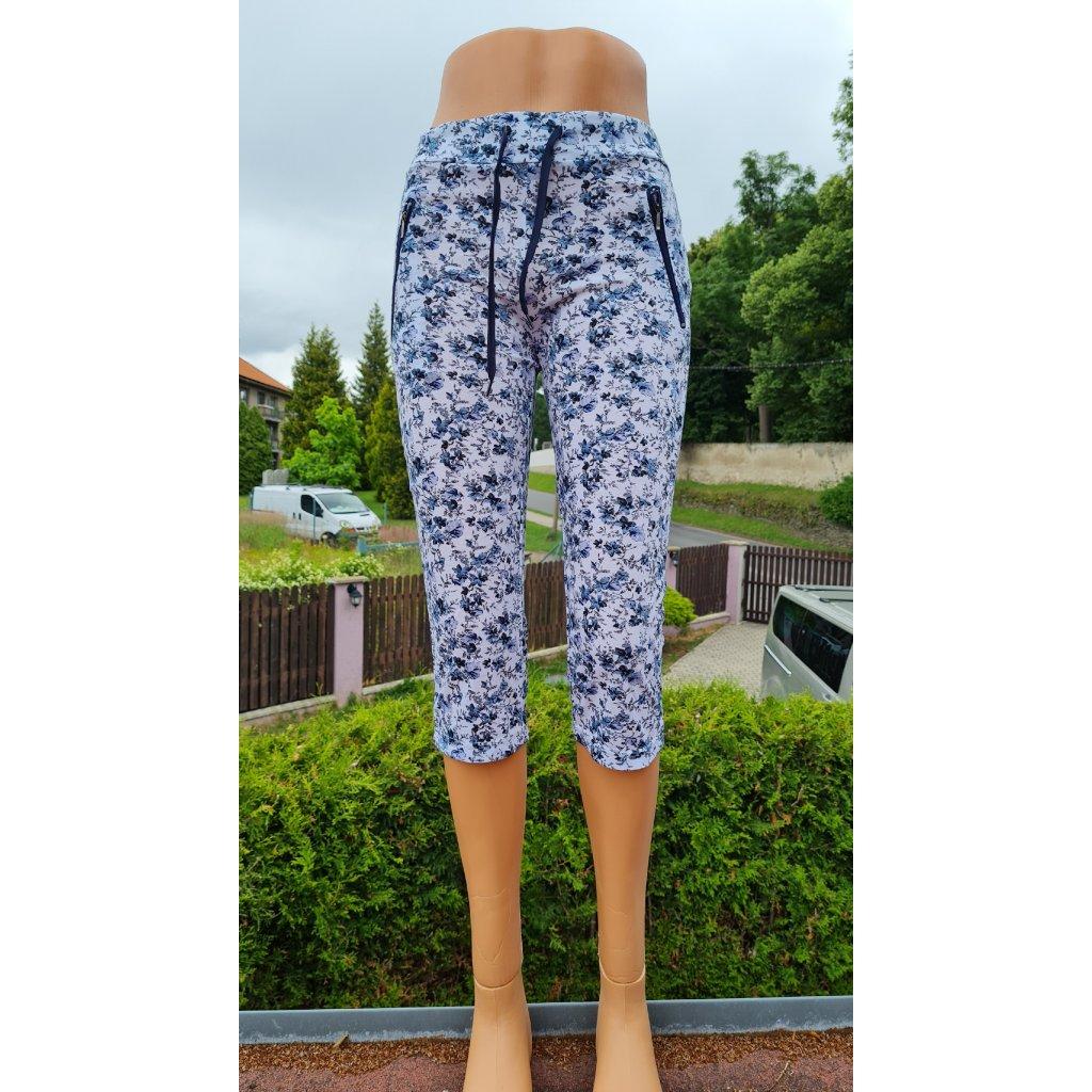 Kalhoty 3/4 Tovta NQFK7138 - bílo modré