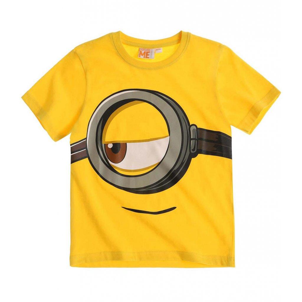 vyr 5321boys minions short sleeve t shirt yellow full 17347