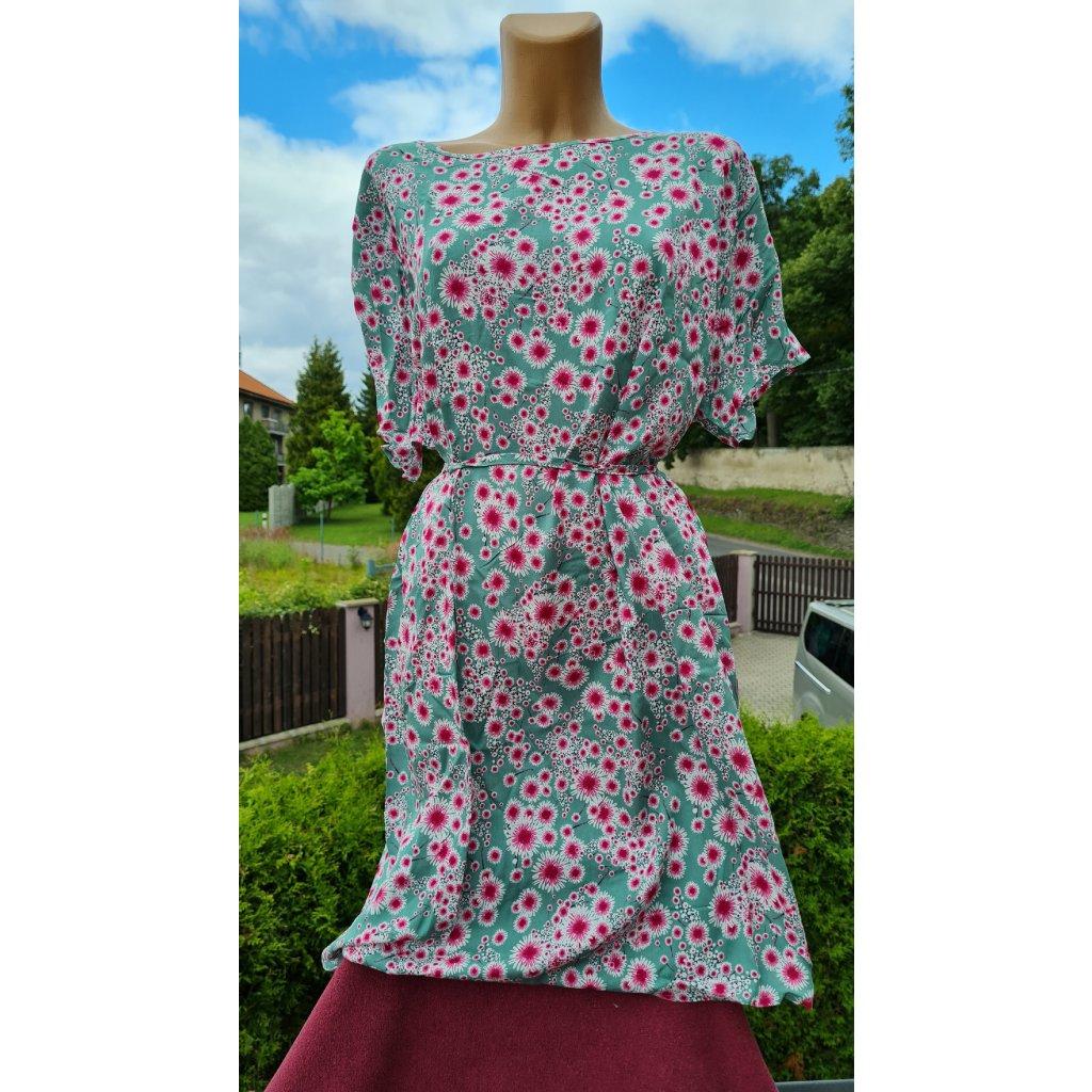 Dámské krátké šaty XW232 - zelené