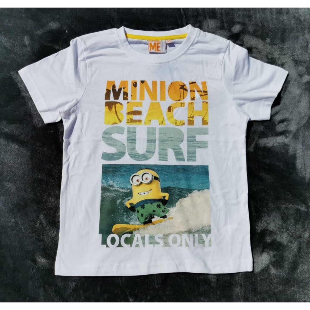 Tričko Mimoni - bílé Beach
