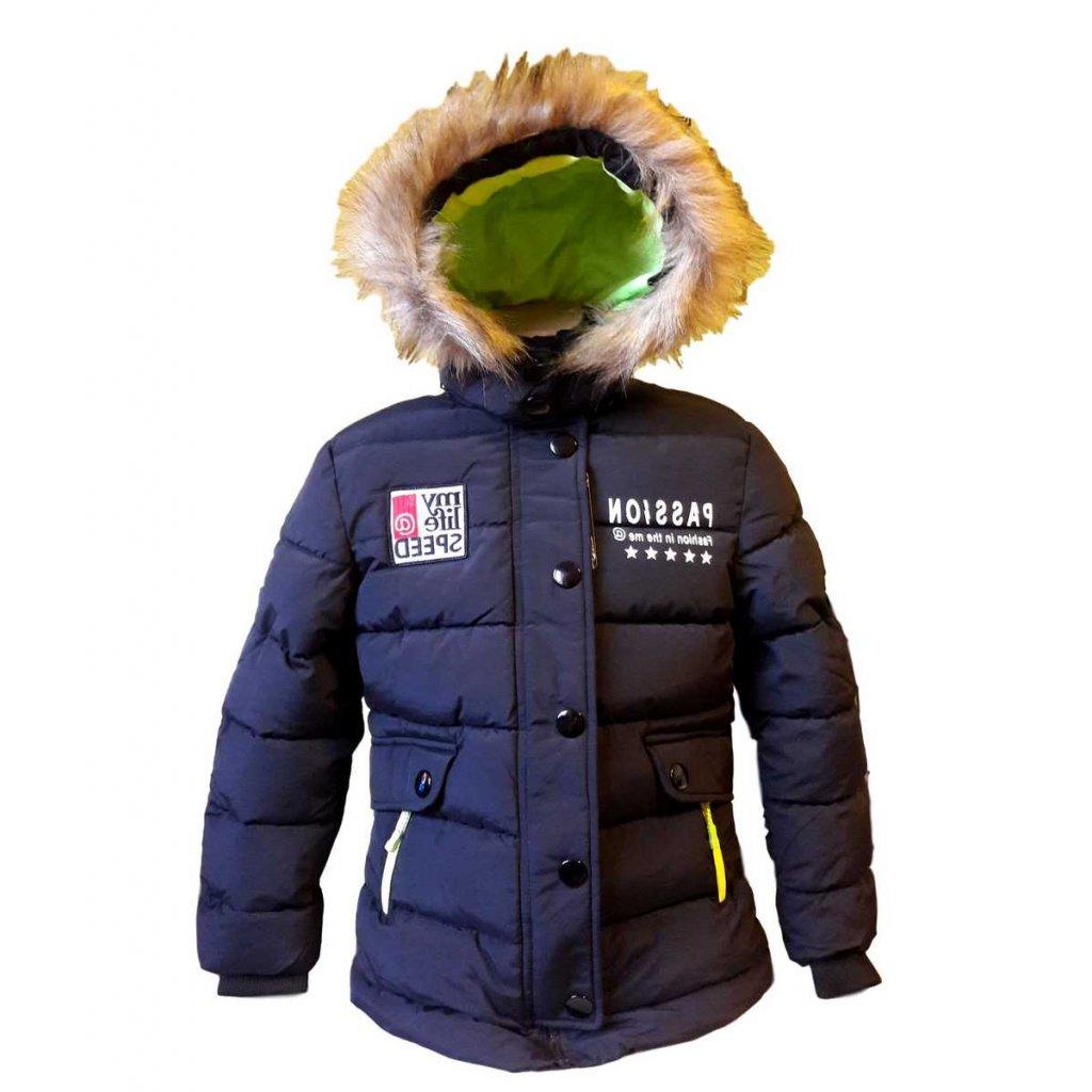 vyr 6412 zimni bunda wolf cerna
