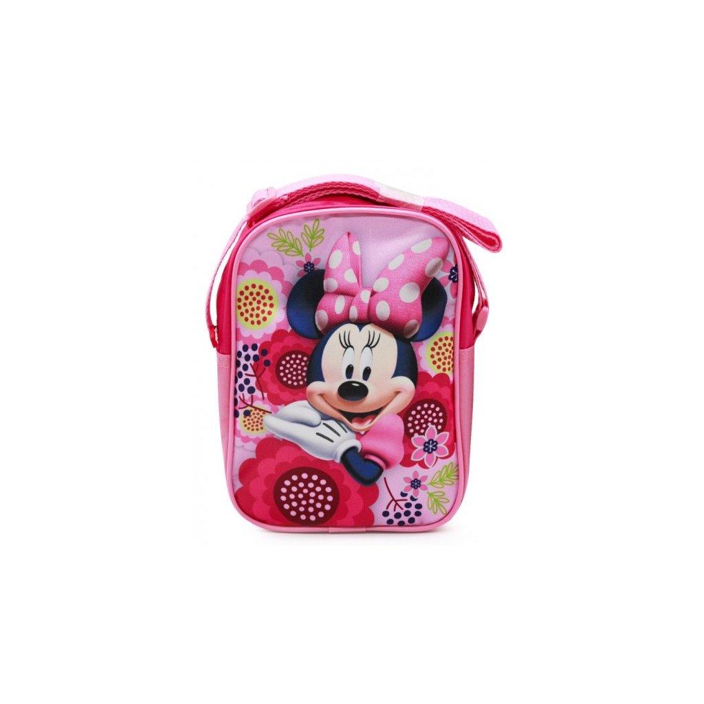 taska pres rameno minnie mouse disney kvety