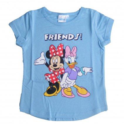 vyr 124055 divci tricko SETINO 209 Minnie a Daisy modre