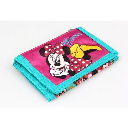 Textilní peněženka Minnie Mouse MIN-A-Wallet-06