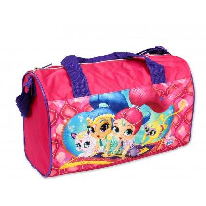 Sportovní taška SHIMMER and SHINE 600-579 fialový popruh