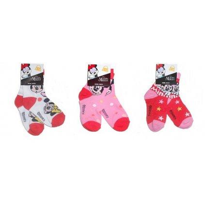 3pack ponožky Minnie Mouise Socks-99