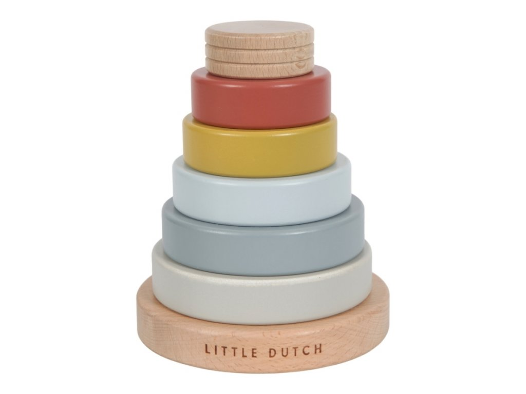 Little Dutch Pure & Nature nasazovací kroužky
