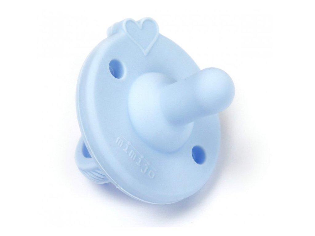 Mimijo silikonový dudlík Modrý