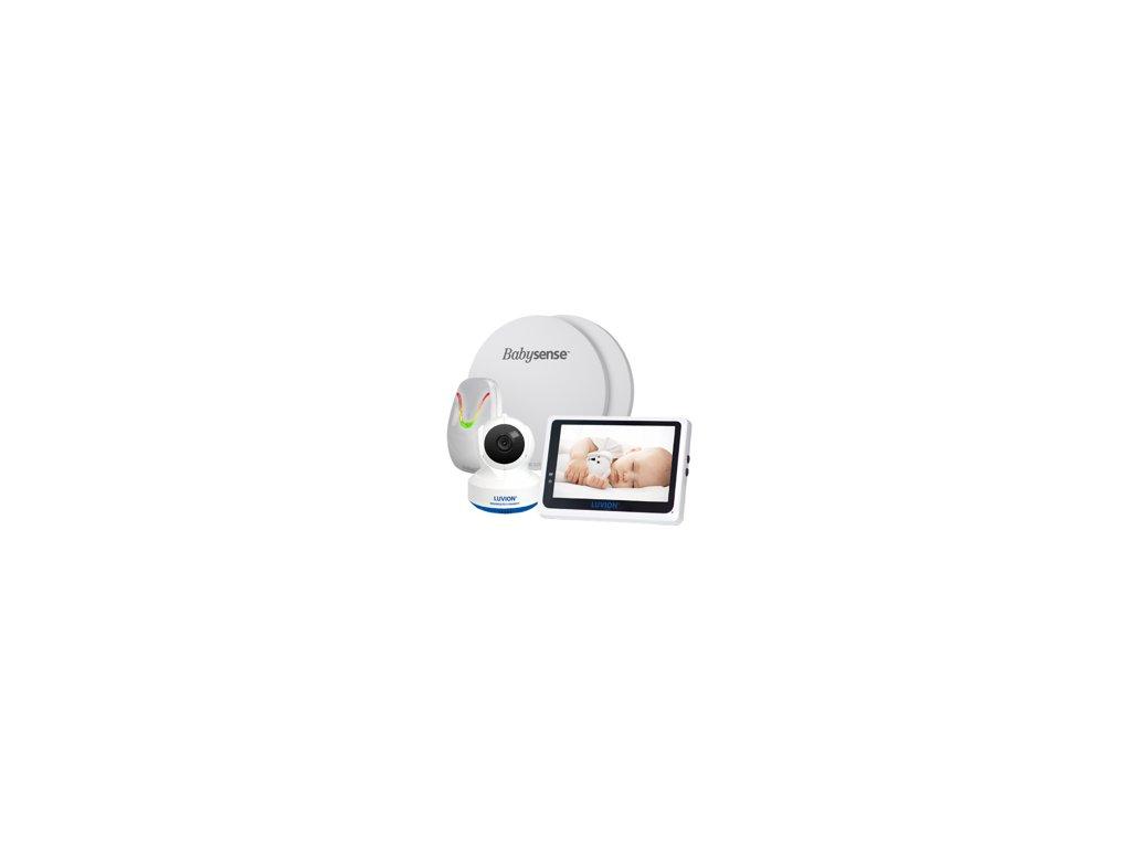pol pm LUVION R GRAND ELITE 3 CONNECT elektroniczna niania z kamera i monitorem oddechu BABYSENSE 7 8734 1