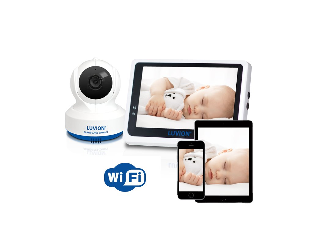 Luvion® GRAND ELITE 3 s monitorem dechu BABYSENSE 7