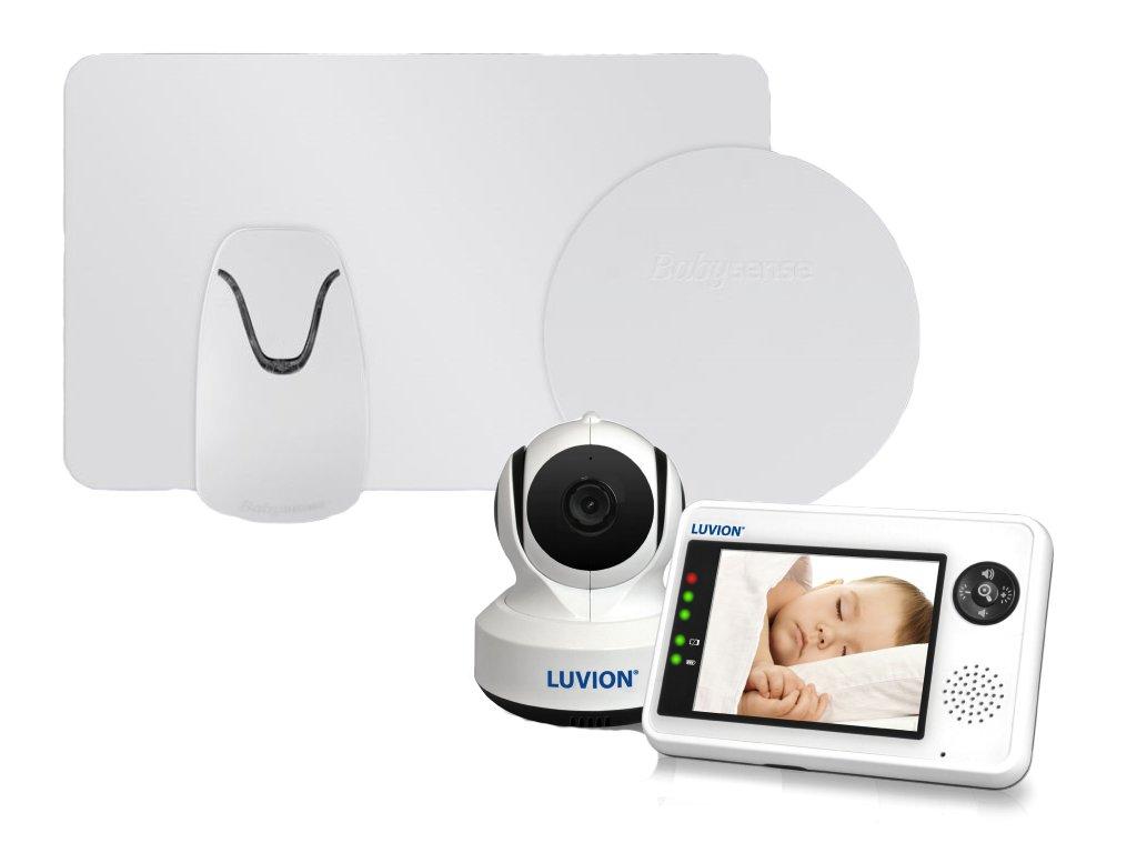 Luvion ESSENTIAL 3,5 s monitorem dechu Babysense II Pro