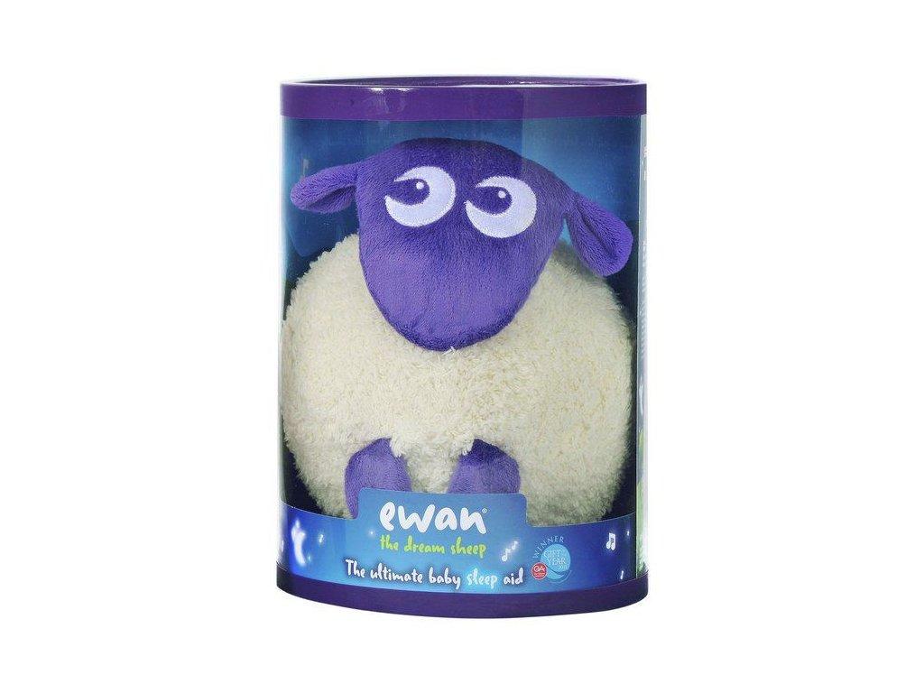 Ewan uspávací ovečka fialová