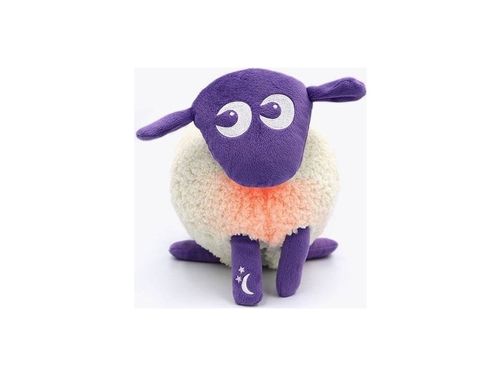 Ewan Deluxe uspávací ovečka fialová