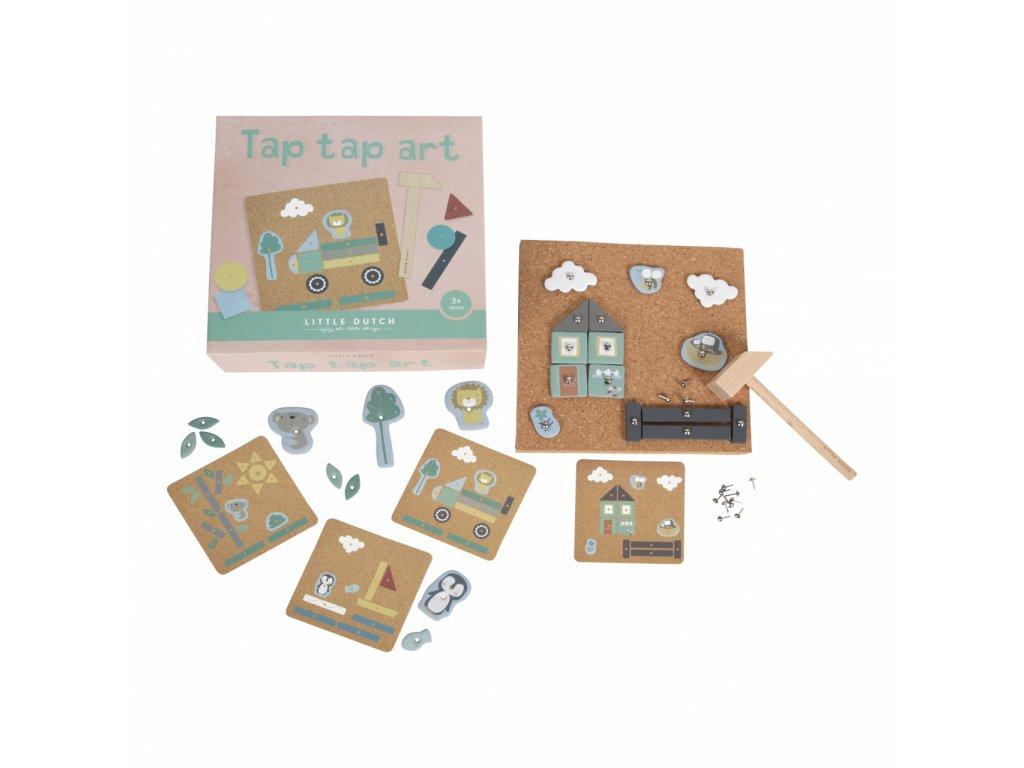 Little Dutch kreativní box TAP TAP