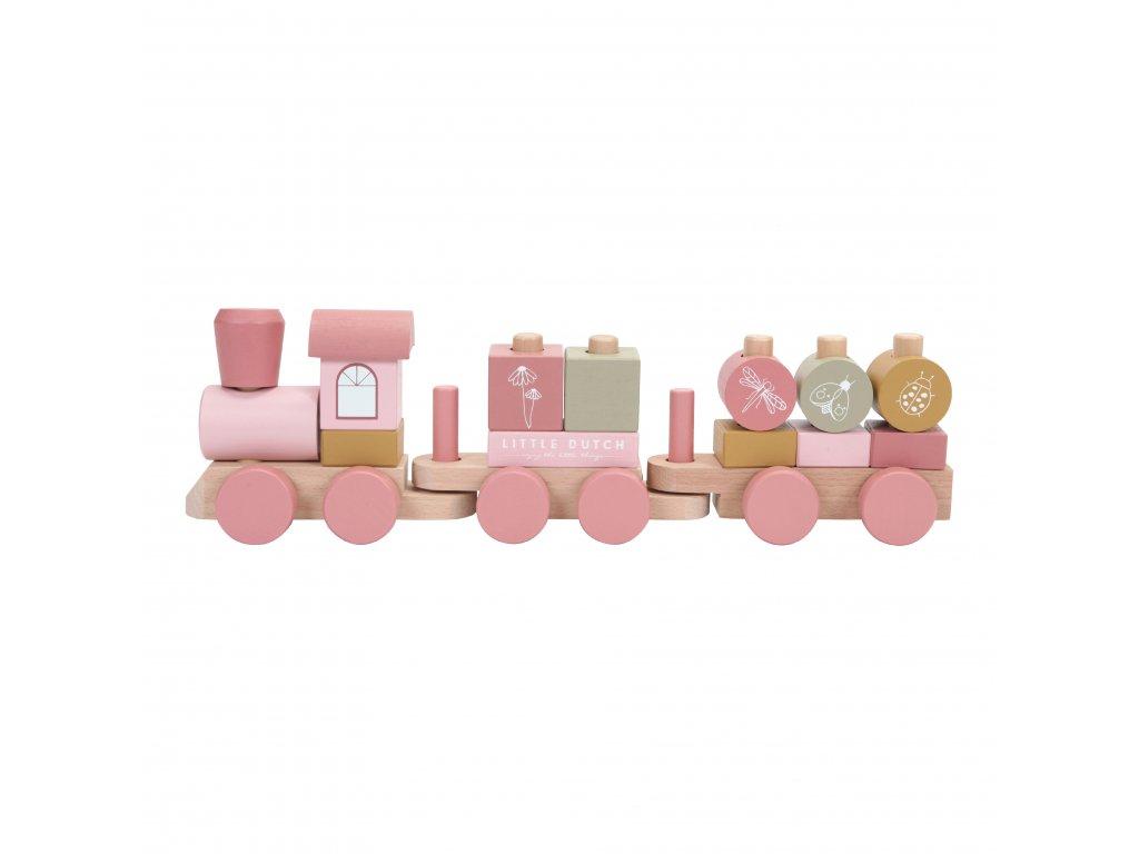 LD 7035 Stacking Train Pink 1