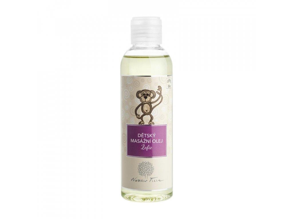 Dětský masážní olej Žofie: 200 ml