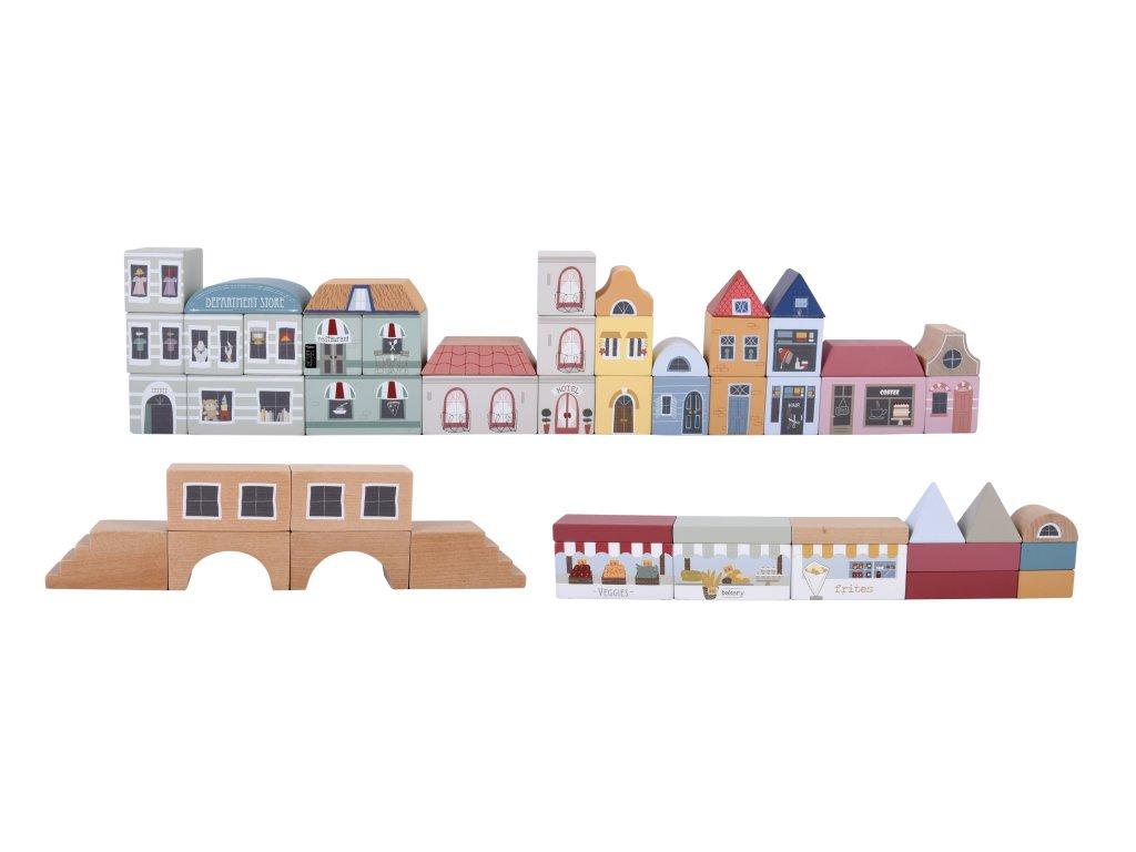 4493 Kostky město 50 Ks 50 Blocks city (1)