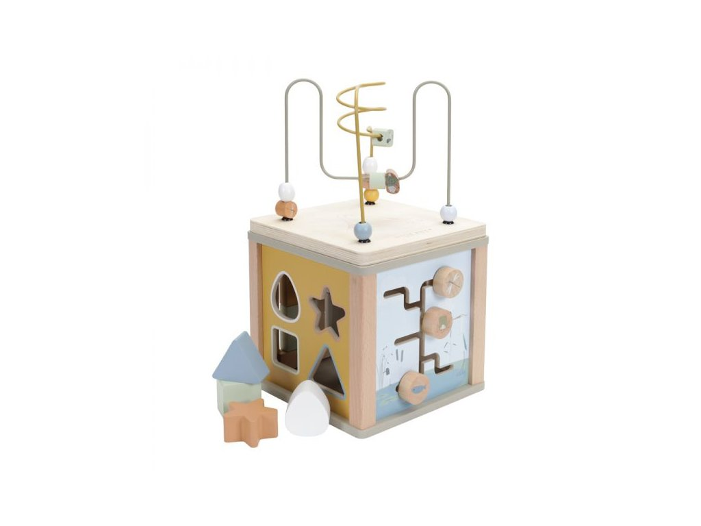 LD 7030 Activity Cube Olive 1