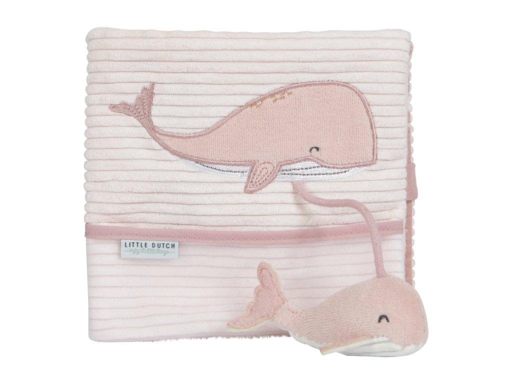 0008004 little dutch soft activity book ocean pink pink 0