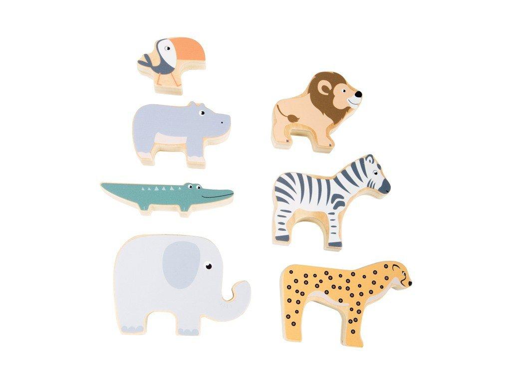 Small Foot Skládací zvířátka Safari
