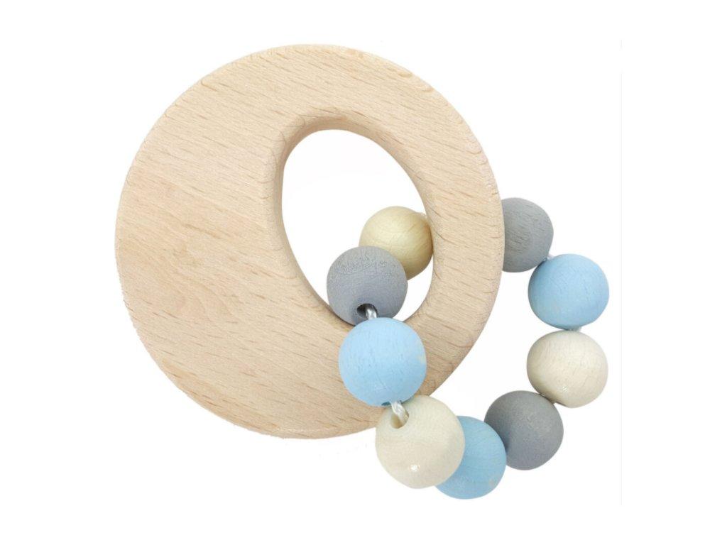 Hess Chrastítko kruh - modré