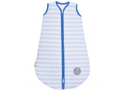 Natulino dětský zimní spací pytel pro miminko, BLUE STRIPES / NAVY, 3vrstvý, L (12 - 18 měsíců)