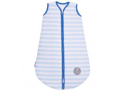 Natulino dětský zimní spací pytel pro miminko, BLUE STRIPES / NAVY, 3vrstvý, N (0 - 3 měsíce)