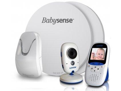 Videochůvička Luvion EASY 2 s monitorem dechu BABYSENSE 7