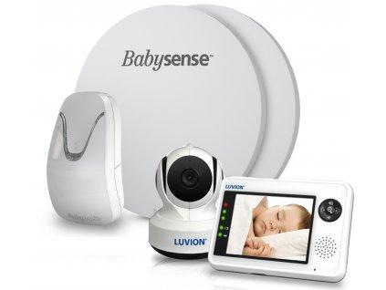 Videochůvička Luvion® Essential s monitorem dechu BABYSENSE 7