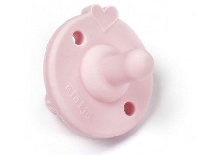 Mimijo silikonový dudlík Růžový