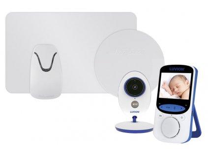 Videochůvička Luvion EASY PLUS s monitorem dechu babysense II Pro